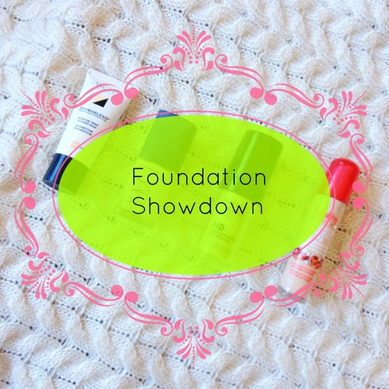 foundation showdown